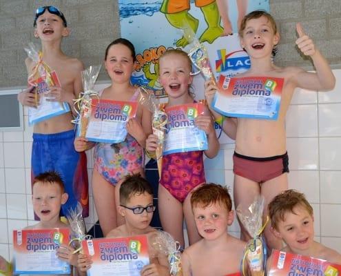 Voor kinderen uit het speciaal onderwijs die graag hun zwemdiploma willen halen is er op de zaterdagmorgen van 9.00 – 11.30 uur zwemles bij 't Zwempunt Delden.