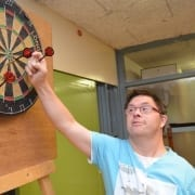 Darten/biljarten - Stichting de Klup Twente - Profesionele vrijwilligersorganisatie voor mensen met een beperking