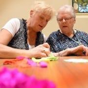 Voor senioren met een beperking is er op de donderdagmiddag een aangepast aanbod van spelletjes. Met veel persoonlijke aandacht en gezelligheid. Van 13.30 – 15.30 uur.