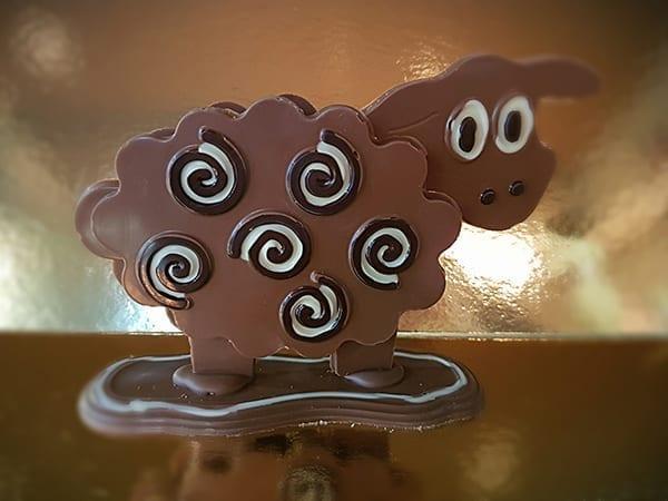 Chocolade schaap