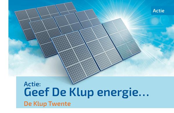 Geef De Klup energie en adopteer een zonnepaneel