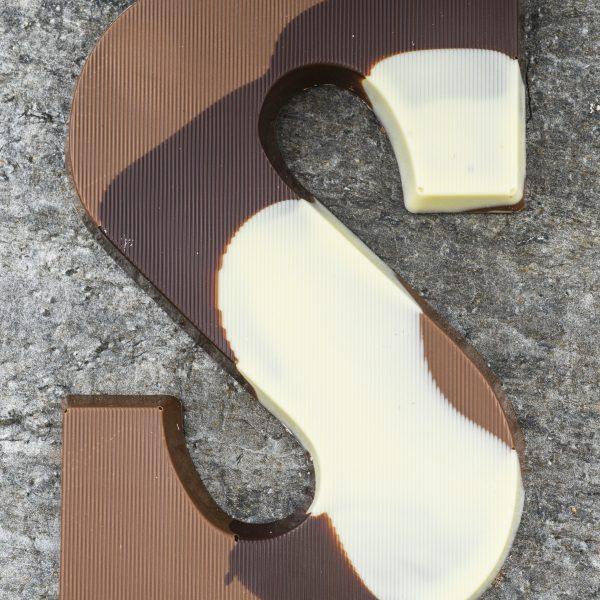 Bonte Chocolade letter